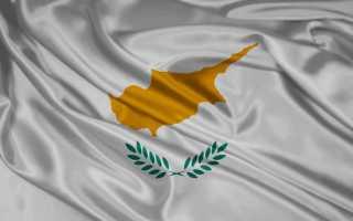 Миграционная карта Кипра: образец заполнения