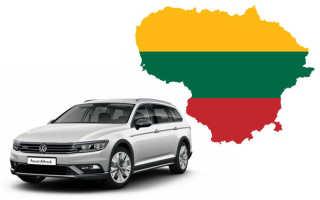 Поездка в Литву на машине из России: документы, виза и страховка