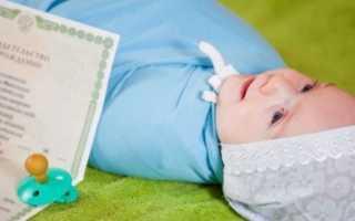 Документы для оформления гражданства для новорожденного ребёнка