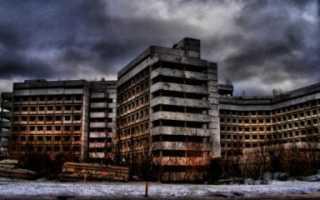 Топ жутких заброшенных мест в Москве