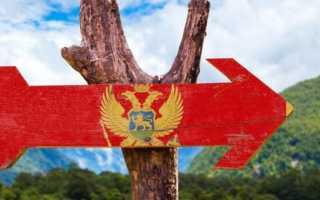 Как можно оформить вид на жительство в Черногории для россиян