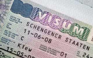 Электронное заполнение анкеты для оформления шенгенской визы