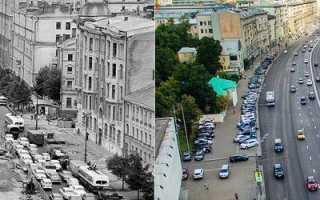 Москва тогда и сейчас – фотографии сквозь эпохи