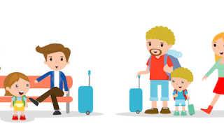 Билеты на самолет для детей: стоимость льготных авиабилетов