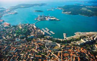 Лучшие курорты Хорватии – подборка фото