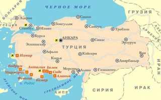 Правила пересечения границы Турции