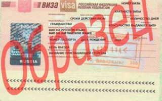 Транзитная виза в Россию для иностранцев: документы