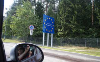 Условия транзита  через Литву