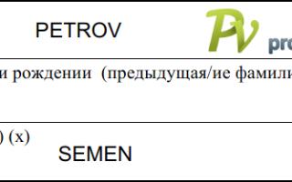 Заполнение анкеты для получения визы в Польшу
