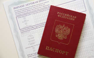 Гостевая виза в Чехию по приглашению: образец оформления
