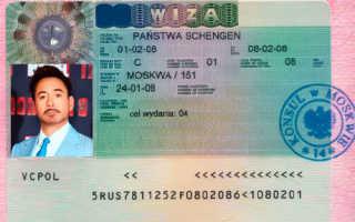 Какие документы нужны для оформления визы в Польшу
