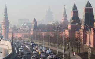 Экология районов Москвы