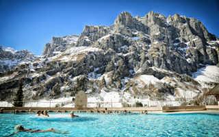 Горнолыжные курорты Европы с термальными источниками