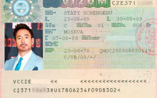 Документы, необходимые для получения визы в Чехию
