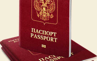 Заполнение квитанции для оплаты госпошлины за получение загранпаспорта