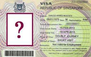 Каким должно быть фото для визы в Сингапур