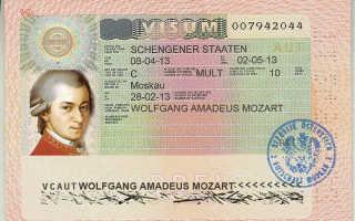Оформление визы в Австрию для украинцев