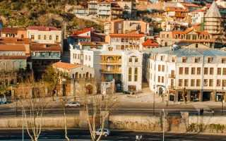 Тбилиси столица Грузии – подборка фото