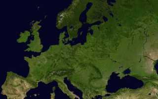 Экология стран Европы: проблемы и пути их решения