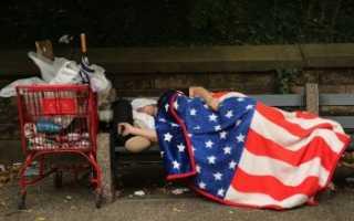 Уровень бедности в США