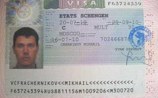Оформление срочной визы в Чехию: образец написания