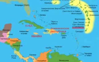 Нужна ли виза в Сент-Винсент и Гренадины