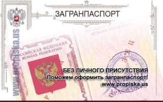 Оформление и получение загранпаспорта без личного присутствия