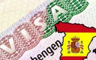Получение визы в консульстве Испании