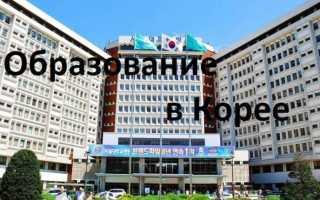 Университеты Южной Кореи: получение высшего образования в этой стране