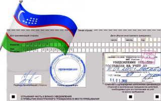 Регистрация граждан Узбекистана в РФ