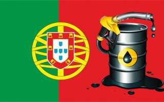 Стоимость и цена 1 литра 5 бензина в Португалии