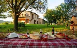 Особенности агротуризма в Италии