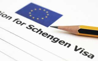 Оформление срочной визы в Германию: образец написания