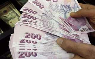 Средняя зарплата в Турции