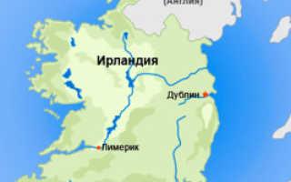 Оформление и получение визы для въезда в Ирландию