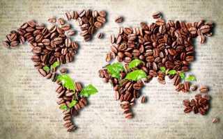 Рейтинг крупнейших стран в мире по производству кофе