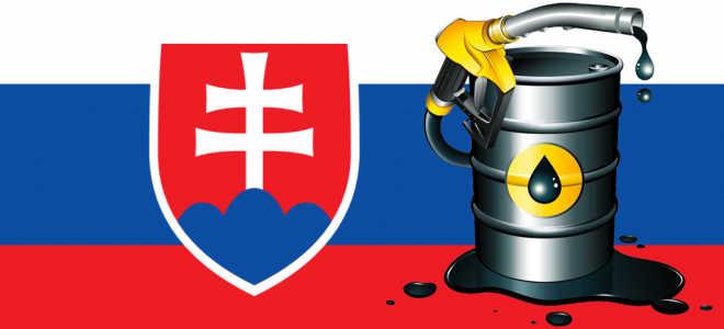 Цена бензина в Словакии