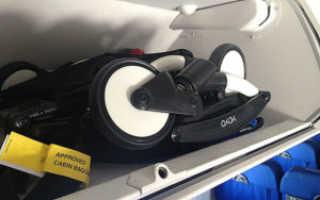 Правила перевозки коляски в самолете